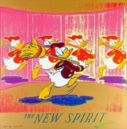 Andy Warhol, 'The New Spirit (Donald Duck) F.S. II 357', 1985