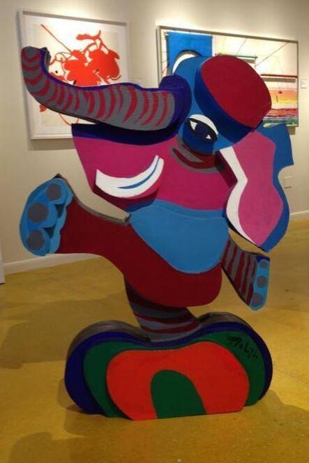 Karel Appel, 'Untitled-Balancing Elephant', 1978