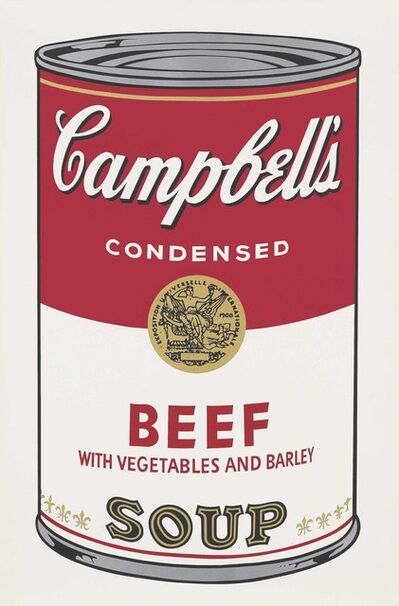 Andy Warhol, 'Campbell's Soup I: Beef with Vegetables', 1968