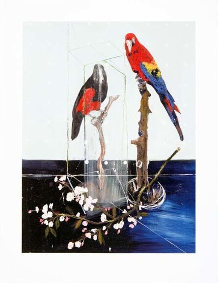 Damien Hirst, 'Two Birds with Blossom', 2012