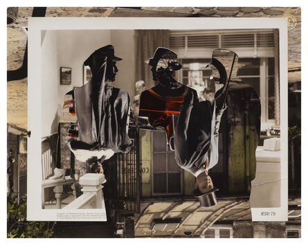 John Stezaker, 'Double Shadow XXXVIII', 2015