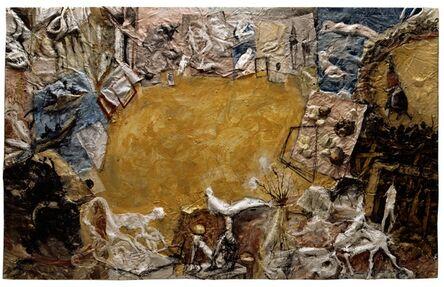Miquel Barceló, 'Atelier avec Six Taureaux', 1994