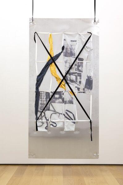 Yorgos Sapountzis, 'Reklame Athens Screens - green yellow', 2014