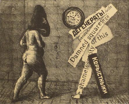 William Kentridge, 'Damned Squares of this Shameless City', 2009