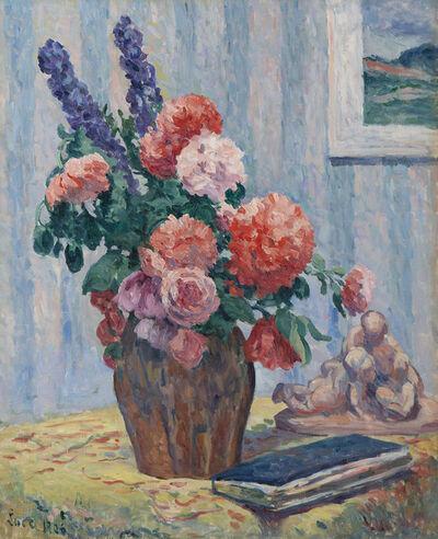 Maximilien Luce, 'Nature morte au bouquet', 1906
