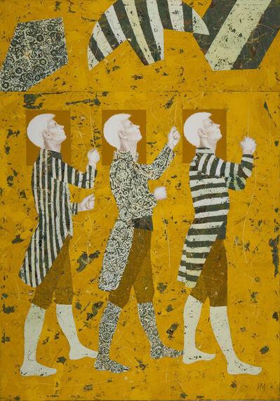 Igor & Marina, 'Walkers XIX (Painting for the Sky)', 2014