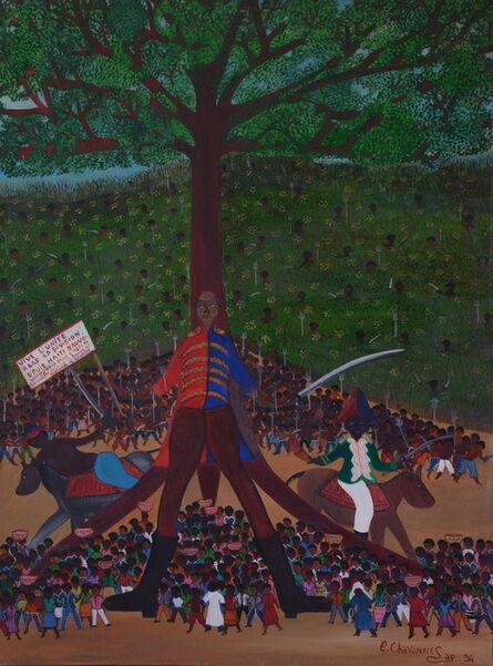 Etienne Chavannes, 'L'arbre de la liberté', 1994