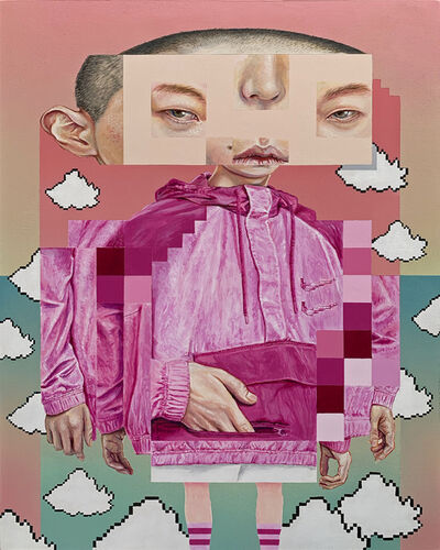Juan Sanabria, 'ABOVE THE CLOUDS', 2021
