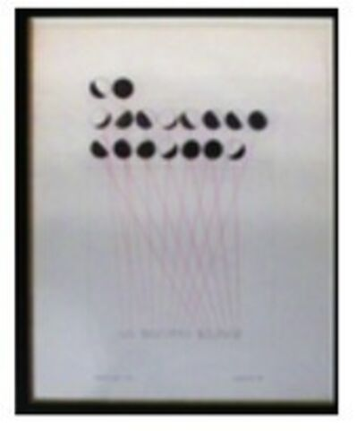 Leandro Katz, 'Un Discurso Solemne- From the Lunar Alphabet series'