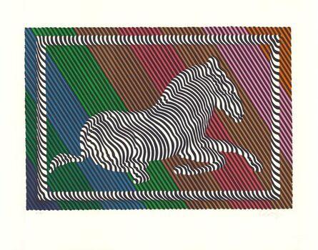 Victor Vasarely, 'Zebra No. 3 (I)', 1980-1990