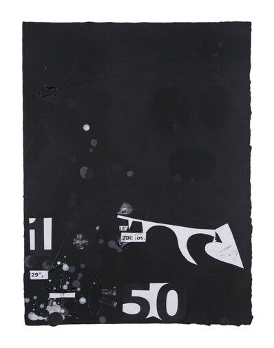 Suzanne McClelland, 'In the Black #8', 2015