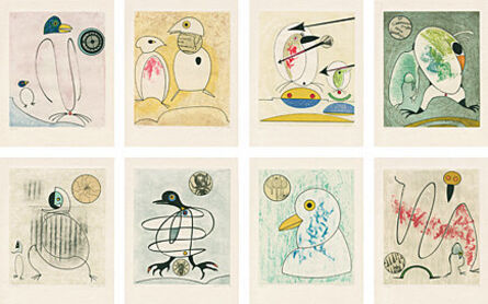 Max Ernst, 'Oiseaux en péril', 1975