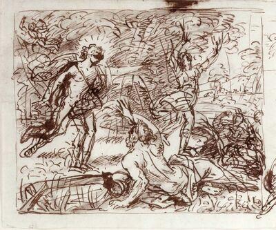 Carlo Maratti, 'Apollo and Daphne', ca. 1680