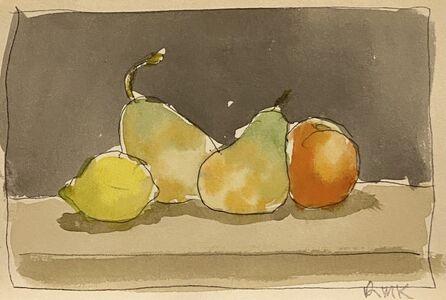 Robert Kulicke, 'Fruit on a Shelf', Not dated