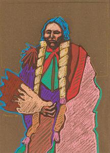 Darren Vigil Gray, 'Indian Portrait', 1982