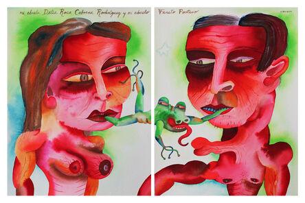 Eduardo Sarmiento, 'Delia Rosa Cabrera Rodriguez & Fausto Portero - Maternal Grandparents', 2012