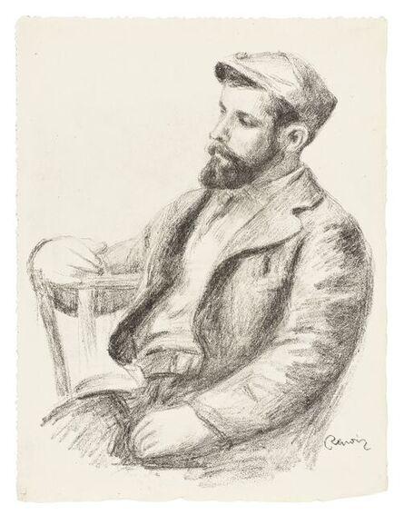 Pierre-Auguste Renoir, 'Louis Valtat; Femme au Cep du Vigne, 3eme Variante (double-sided print) from L'Album des Douze Lithographies Originales de Pierre-Auguste Renoir (Delteil 38; Delteil 47)', 1904
