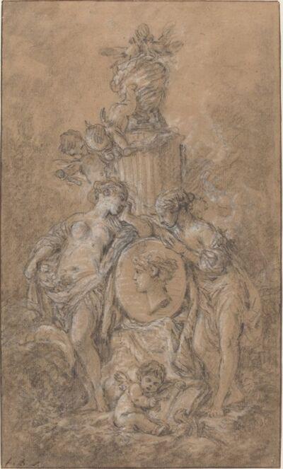 François Boucher, 'Design for a Funeral Monument', ca. 1767