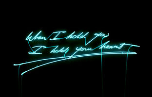 Tracey Emin, 'When I hold you I hold your heart', 2012