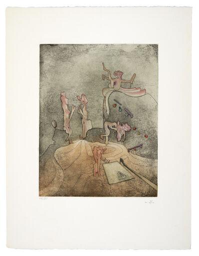 Roberto Matta, 'Aimera bien qui aimera le dernier', 1968