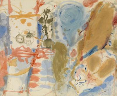 Helen Frankenthaler, 'Western Dream', 1957