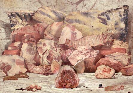 Ruud Van Empel, 'Still Live - Meat', 2014