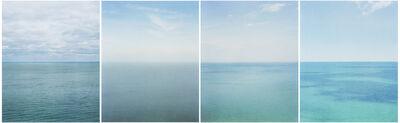 Catherine Opie, 'Fall, Winter, Spring, Summer (Lake Michigan)', 2004-2005