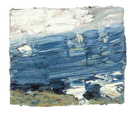 Klaus Fussmann, 'Meer mit zwei Seglern', 2007