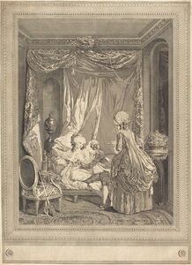 Jeanne Deny or Martial Deny after Niclas Lafrensen II, 'Le restaurant', 1782
