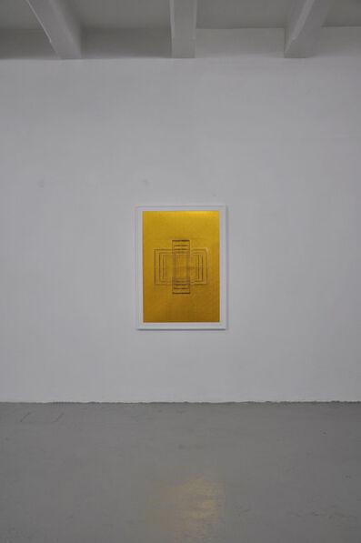 Paolo Cavinato, 'Seal - Gold #1', 2015