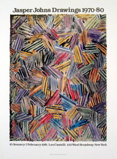 Jasper Johns, 'Drawings 1970-80', 1981