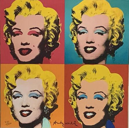 Andy Warhol, 'Four Marilyn', 1986