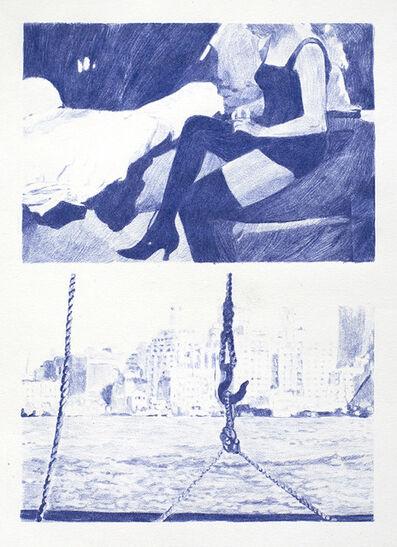 Luz Blanco, 'Blue 7', 2012