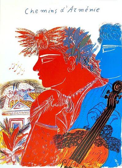 Alekos Fassianos, 'Chemins d'Arménie', 1990
