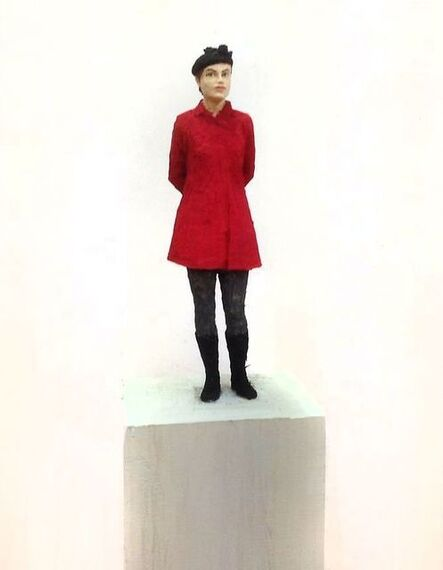 Stephan Balkenhol, 'Woman with Red Jacket', 2016