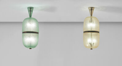 Seguso, 'Pair of lanterns', circa 1940