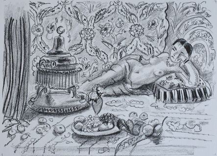 Henri Matisse, 'Odalisque with Brasero and Bowl of Fruits | Odalisque, brasero et coupe de fruits', 1929
