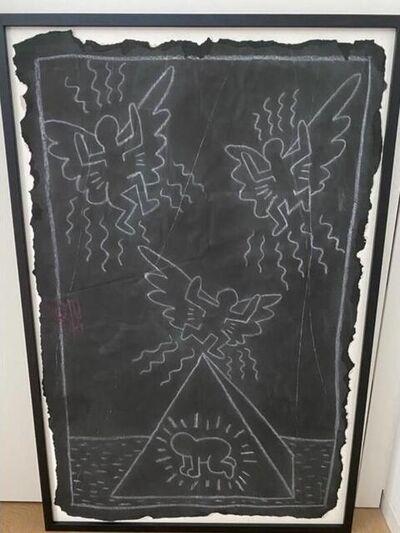 Keith Haring, 'Subway Drawing', 1990s