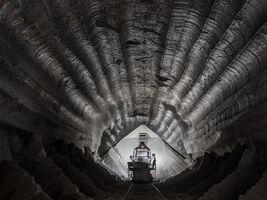 Edward Burtynsky, 'Edward Burtynsky, Uralkali Potash Mine #1, Berezniki, Russia', 2017
