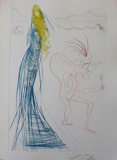 Salvador Dalí, 'Tristan and Iseult : Frocin, the Bad Dwarf', 1970