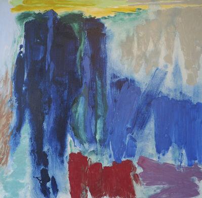 Friedel Dzubas, 'Hope Distant', 1987