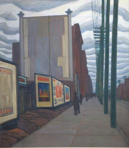 Lawren Stewart Harris, 'City Street', 1922