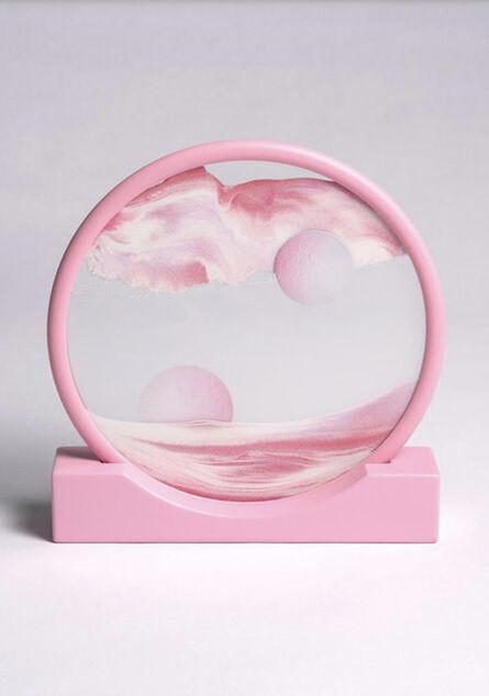 Daniel Arsham, 'Pink Sand Circle', 2019