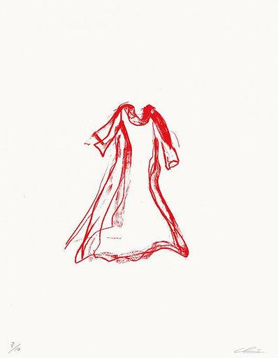 Chiharu Shiota, 'Red Dress', 2015
