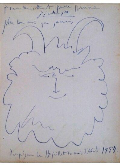 Pablo Picasso, 'Tête de Faun Heureux', 1954