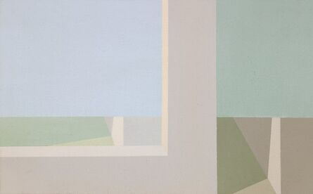 Helen Lundeberg, 'Double View', 1943