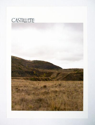 Carme Nogueira, 'Castillete. Retabalo minero (El centro en desplazamiento I)', 2010-2014