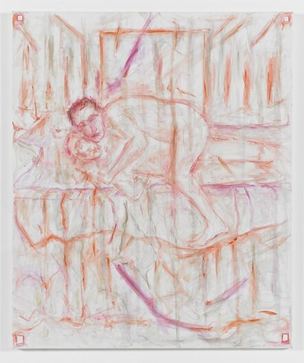 Jutta Koether, 'Untitled (Couple / after Bacon)', 2013