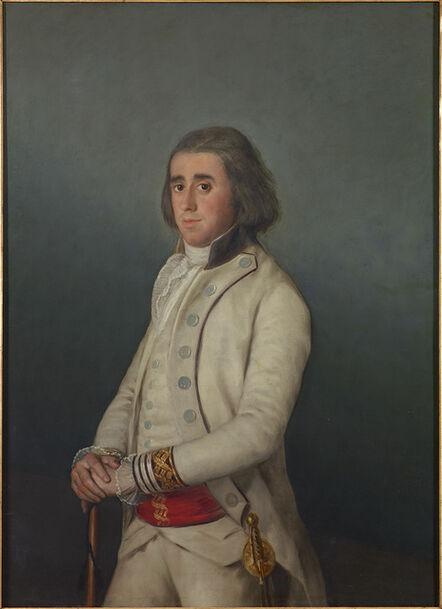 Francisco de Goya, 'Don Valentín Bellvís de Moncada y Pizarro', 1795