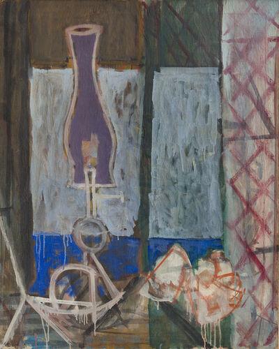Paul Resika, 'Lamp, Skull and the Bay', 1947